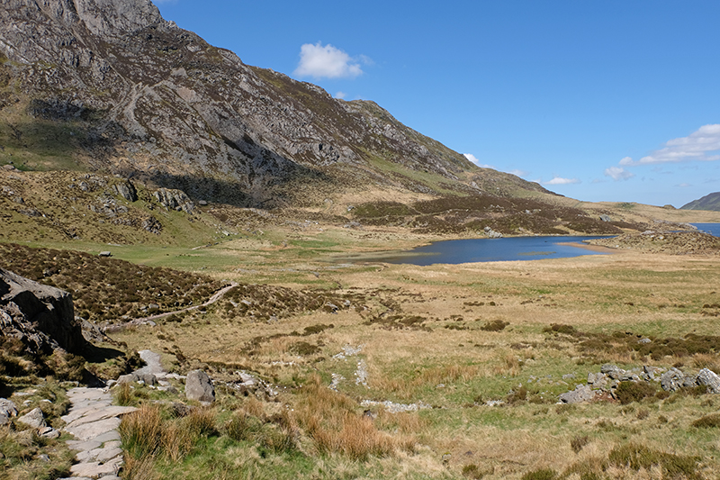View of Llyn Idwal
